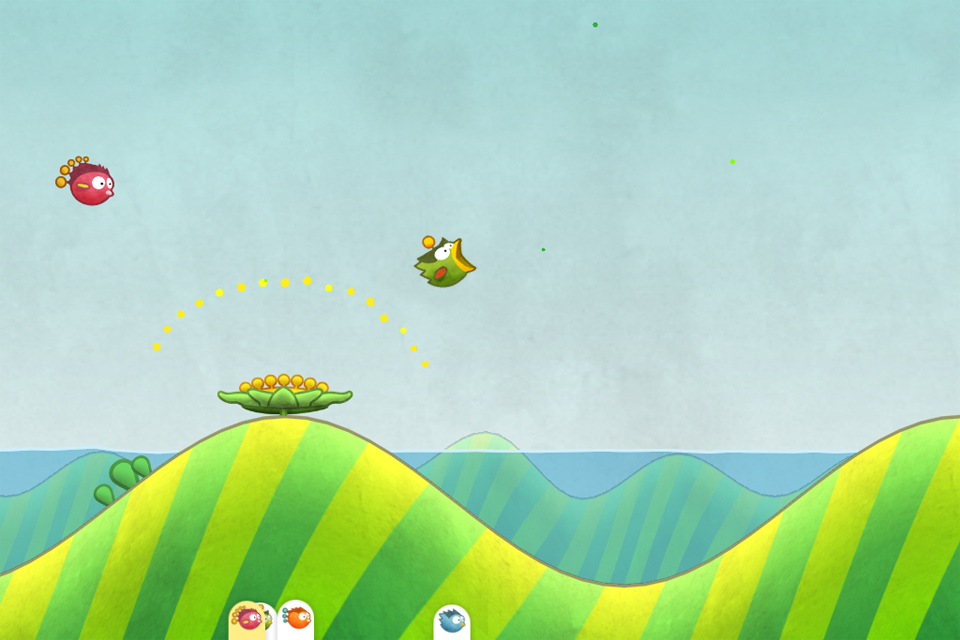 Tiny Wings iPhone, iPad Screenshot